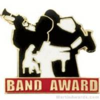 Band Award Lapel Pin