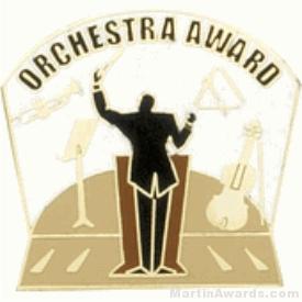Orchestra Award Lapel Pin 1