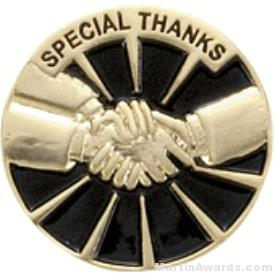 Special Thanks Award Lapel Pin