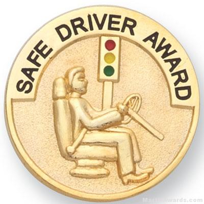 1 Quot Safe Driver Award Lapel Pin Martin Awards