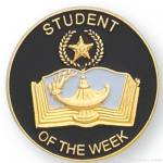 7/8″ Student Of The Week Lapel Pin 1
