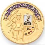 7/8″ Art Award Lapel Pin 1