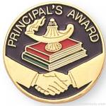 7/8″ Principal's Award Lapel Pin 1