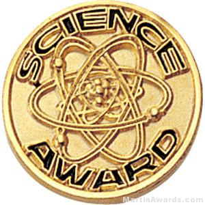 Science Award Custom Lapel Pins