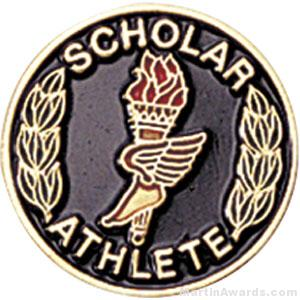 Scholar Athlete Pin 1