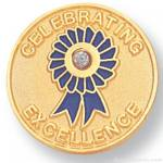 3/4″ Celebrating Excellence Lapel Pin 1