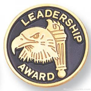 """3/4"""" Leadership Award Lapel Pin"""