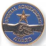 """3/4"""" Special Achievement Lapel Pin"""