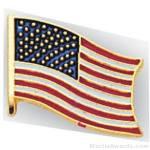 1/2″ American Flag Pins 1