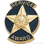 9/16″ Service Award Enameled Lapel Pins 1