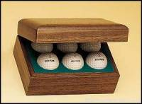Hinged Golf Ball Boxes