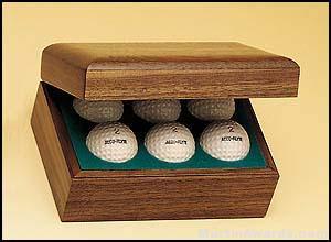 Hinged Golf Ball Boxes