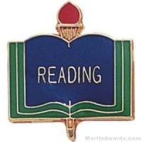 "3/4"" Reading School Award Pins"