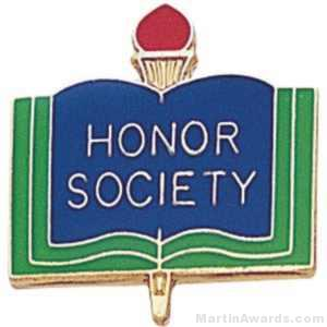 "3/4"" Honor Society School Award Pins"