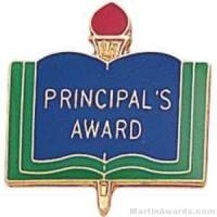 """3/4"""" Principal's Award School Award Pins"""