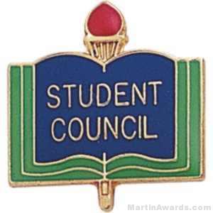 3/4″ Student Council School Award Pins 1